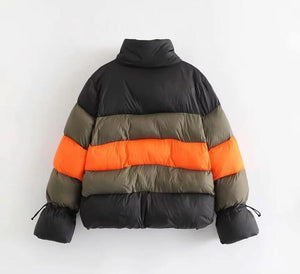 "Exclusive Bubble Down ""The Bronx"" Warm Puffer Designer Jacket"