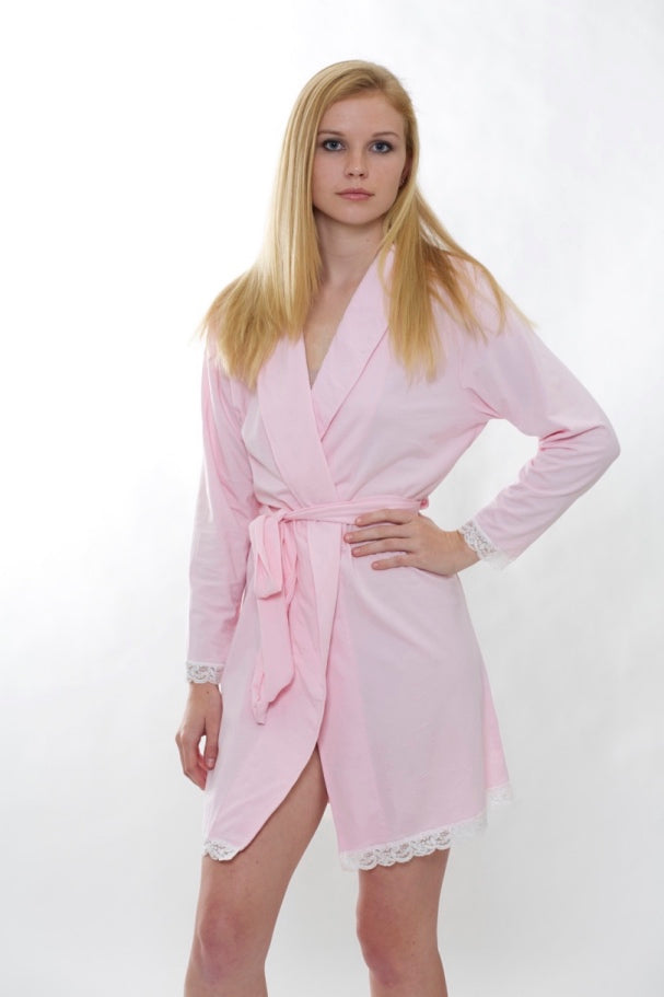 Flora Robe | Light Pink