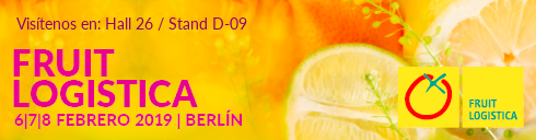 ¡Visítanos en Fruit Logistica Berlin 2019!