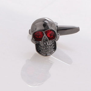Red Eyed Skull Cufflinks
