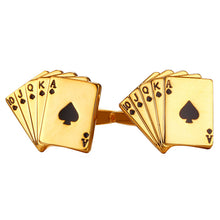 Poker Royal Flush Cufflinks