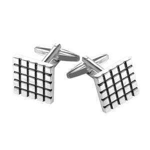 Square Pattern Cufflinks