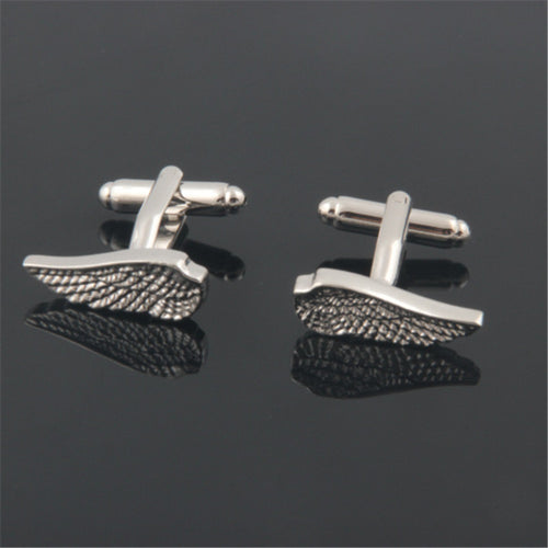 Silver Wings Cufflinks