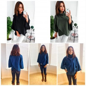 Front Slit Sweater