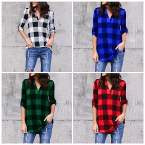 Buffalo Plaid Tunic