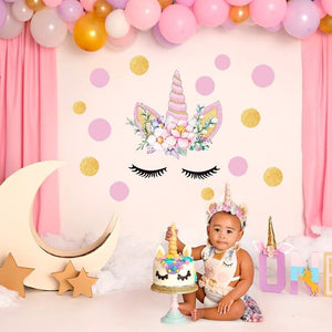 Cute Elegant Unicorn Wall Sticker Kids Home Decor Decal Mural For Birthday