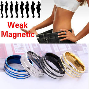 Magnetic Weight Loss Ring Health Beauty Slimming Magnetic Massage Acupressure