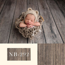 Newborn Vinyl Wooden Floor Pattern Backdrop Photography Background Studio Props Newborn Portraits