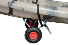 Brooklyn Kayak Company BKC UH-KC271 Kayak Cart - Two-Wheeled Cart for Kayaks, SUPs, Canoes - Easy Overland Transport of Personal Watercraft