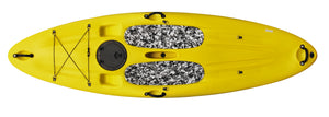BKC UH-SU286 Easy Rider Stand Up Paddle Board 9-Foot 10-inch with Foot Pads and Storage Hatch
