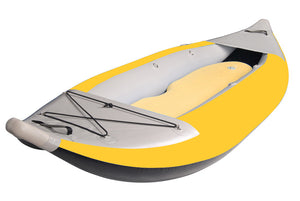 BKC UH-iK289 Inflatable 9-Foot 9-inch Kayak with Pump, Storage Bag, and Repair Kit Included