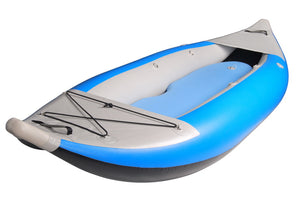 BKC UH-iK289 Tandem Inflatable 9-Foot 9-inch Kayak with Pump, Storage Bag, and Repair Kit Included
