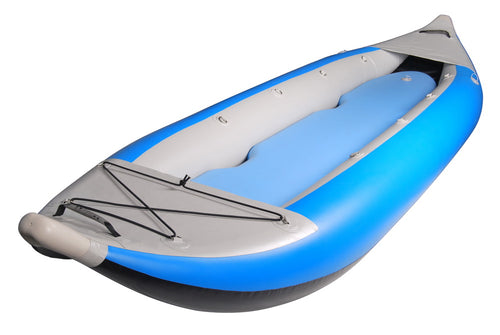 BKC UH-iK290 2-Person 12-Foot 6-inch Inflatable Touring  Kayak with Pump, Storage Bag, and Repair Kit Included