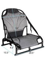 Upright Ergonomic Seats For BKC UH-PK11