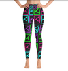 """K"" Neon High Waisted Leggings"