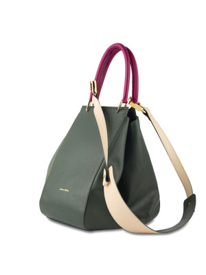 Dorada Tote Forest Green