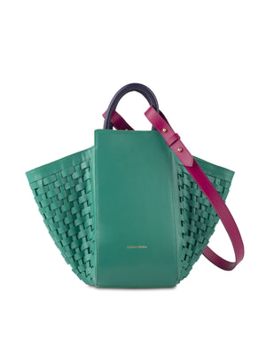 Dorada Mini Tote Emerald
