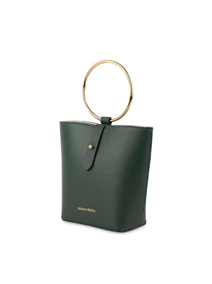 Iza mini handbag forest green