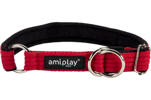 Ami Play Half Check Cotton Collar