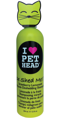 PET HEAD Cat De Shed Shampoo 354ml