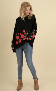 Blooming Night Sweater