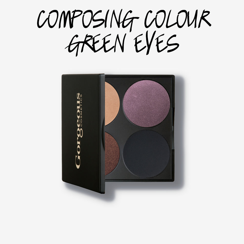 COMPOSING COLOUR GREEN EYES PALETTE