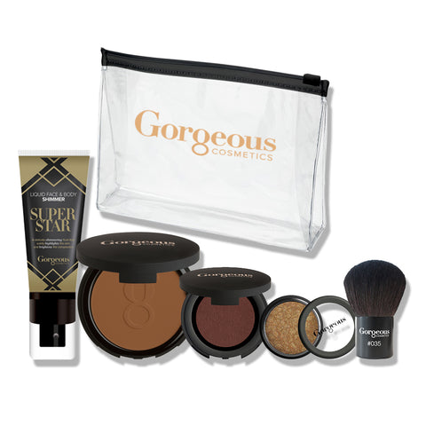 SUMMER GLAM BRONZE SET