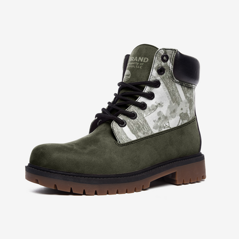 Hoodie Season Casual Lightweight boots (Olive)