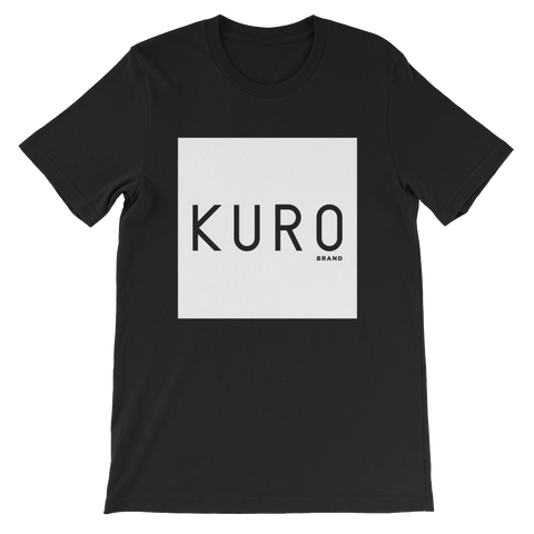 KURO Brand Boxed Men's Black T-shirt