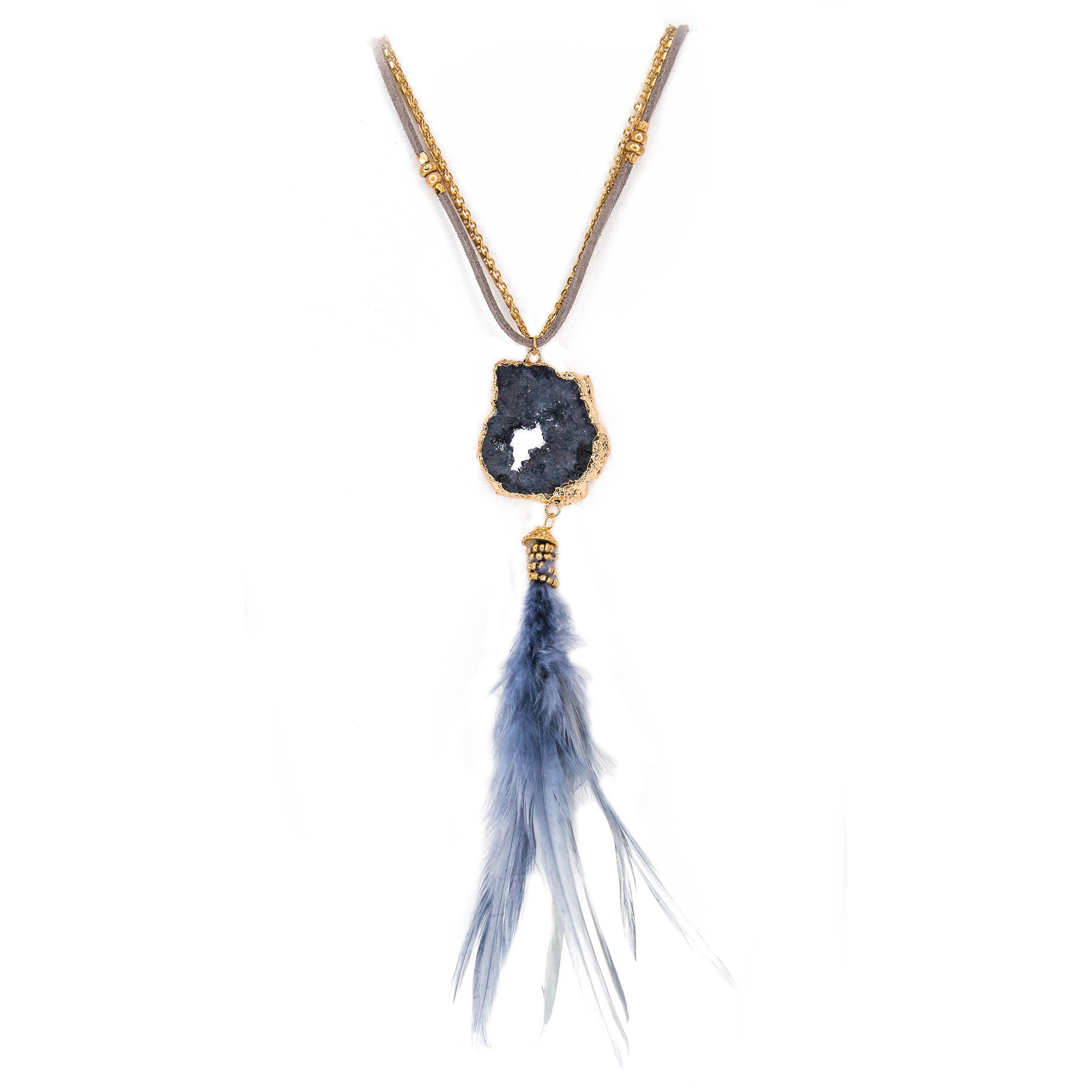 reviews lavender neck necklace peacock circle feather index