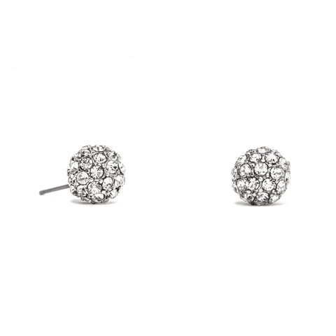 Haven CZ Ball Stud Earrings