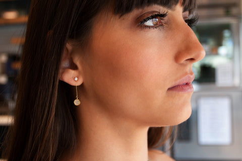 Ella CZ Drop Earrings