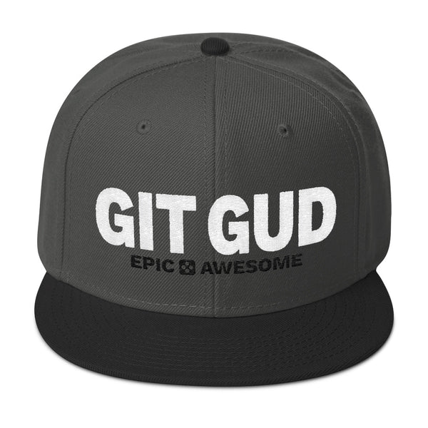 The Original Git Gud Snapback Hat