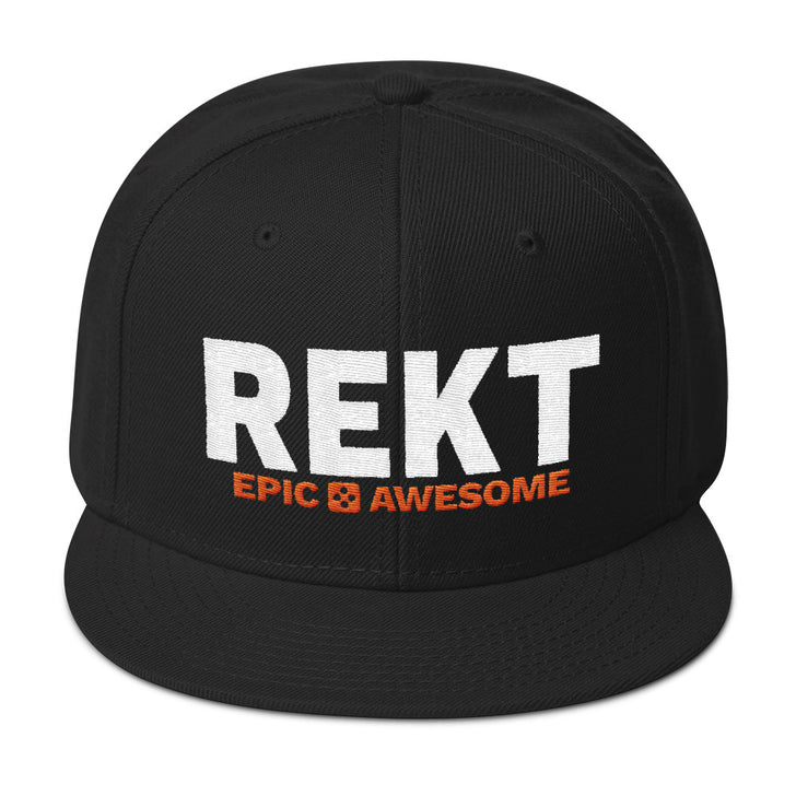 The Original REKT Snapback Hat