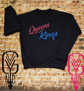 Womens Queens Make Kings Crew