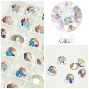 Swarovski AB Chaton Crystals - Glitz It