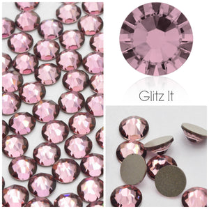 Swarovski® 2058 Small Pack Glue On Crystals: SS5 ANTIQUE PINK - Glitz It