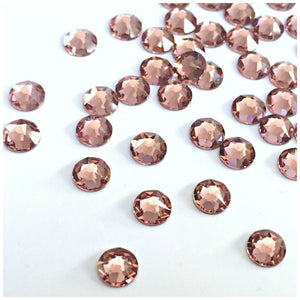 Swarovski Hotfix Flatbacks: Blush Rose - Glitz It