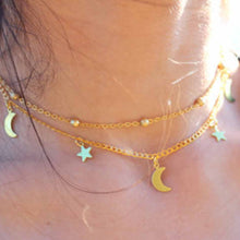 Layer Star Moon Necklace
