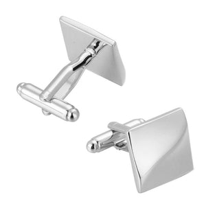 Wave Square Cuff Links