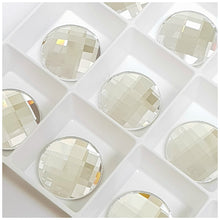 Swarovski 2035 Chessboard Circle Crystals Glue On Flatbacks - Glitz It
