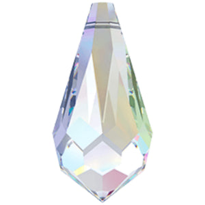 Swarovski Classic Drop Pendant 6000: AB - Glitz It