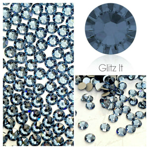 Swarovski® 2058 Small Pack Glue On Crystals: SS5 DENIM BLUE