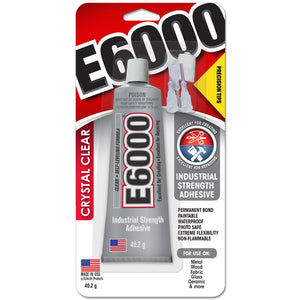 E6000 Glue:  40.2g with Precision Tip