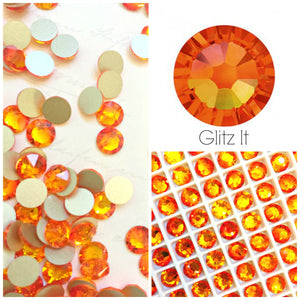 Swarovski Fireopal Crystals Glue On Flatbacks - Glitz It