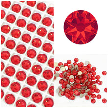 Swarovski Light Siam (Red) Crystals Glue On Flatbacks - Glitz It