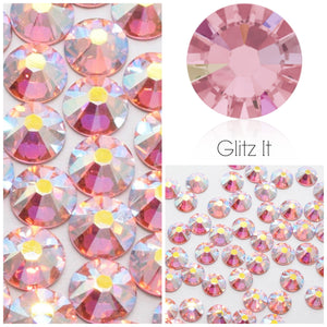Swarovski Hotfix Flatbacks: Light Rose AB - Glitz It