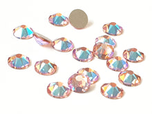 Swarovski Hotfix Flatbacks: Light Rose Shimmer - Glitz It