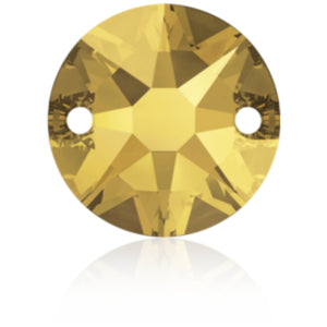 Swarovski® Sew On Crystals: Xirius 3288 Metallic Sunshine - Glitz It