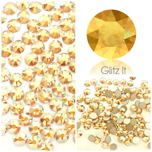 Swarovski® 2058 Small Pack Glue On Crystals: SS5 METALLIC SUNSHINE - Glitz It